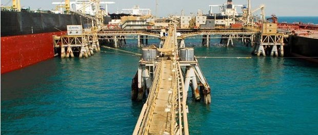 Iraq's Al Basrah Oil Terminal. Photo US Army.