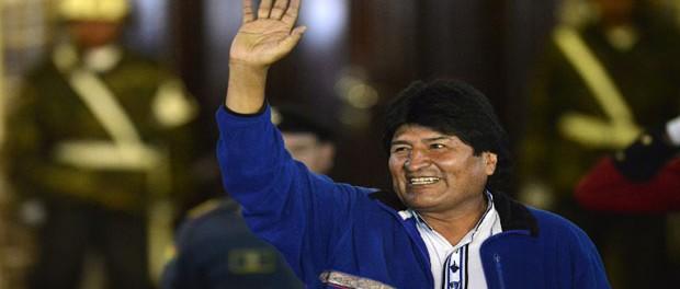 BOLIVIA-ELECTIONS-MORALES-JUBO