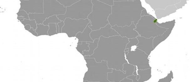 Location of Djibouti. Source: CIA World Factbook.